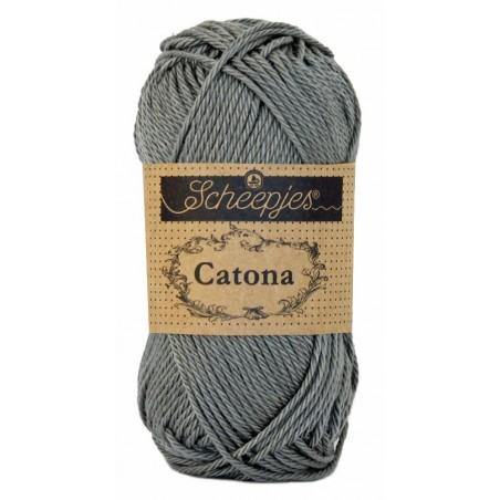 Scheepjes Catona 50 - 242 Metal Grey