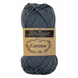 Scheepjes Catona 50 - 393 Charcoal