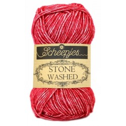 Scheepjes Stone Washed - 807 Red Jasper