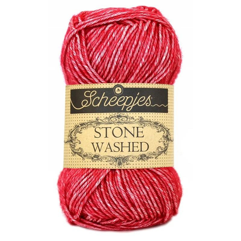Scheepjes Stone Washed - 807 Red Jasper