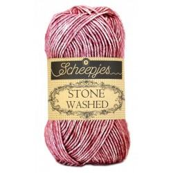 Scheepjes Stone Washed - 808 Corundum Ruby