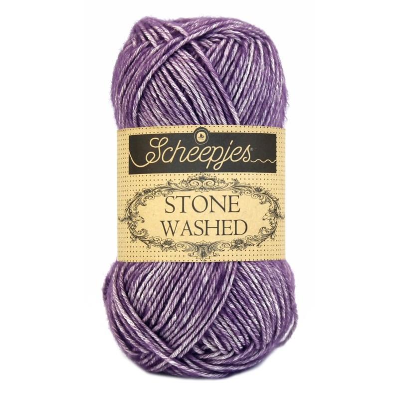 Scheepjes Stone Washed - 811 Deep Amesthyst