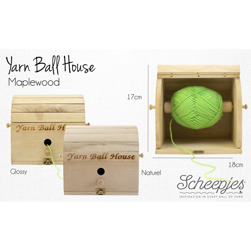 Scheepjes - Yarn Ball House naturel