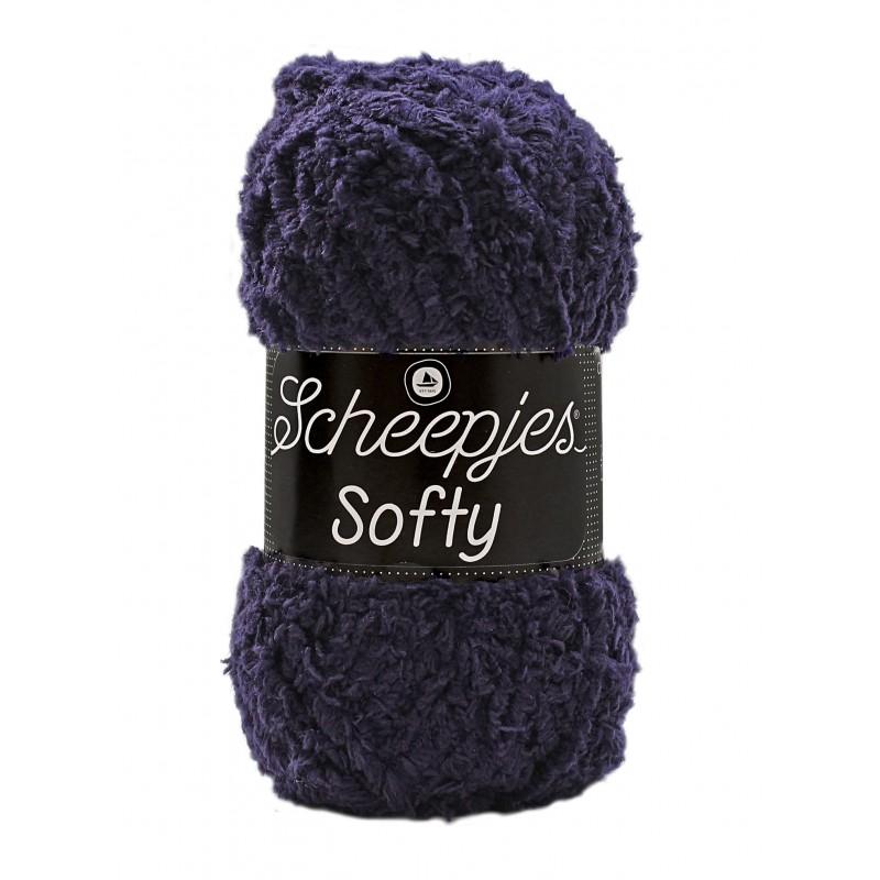 Scheepjes Softy 484 - donkerblauw