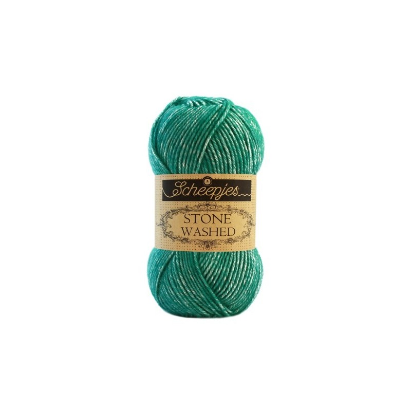 Scheepjes Stone Washed - 825 Malachite