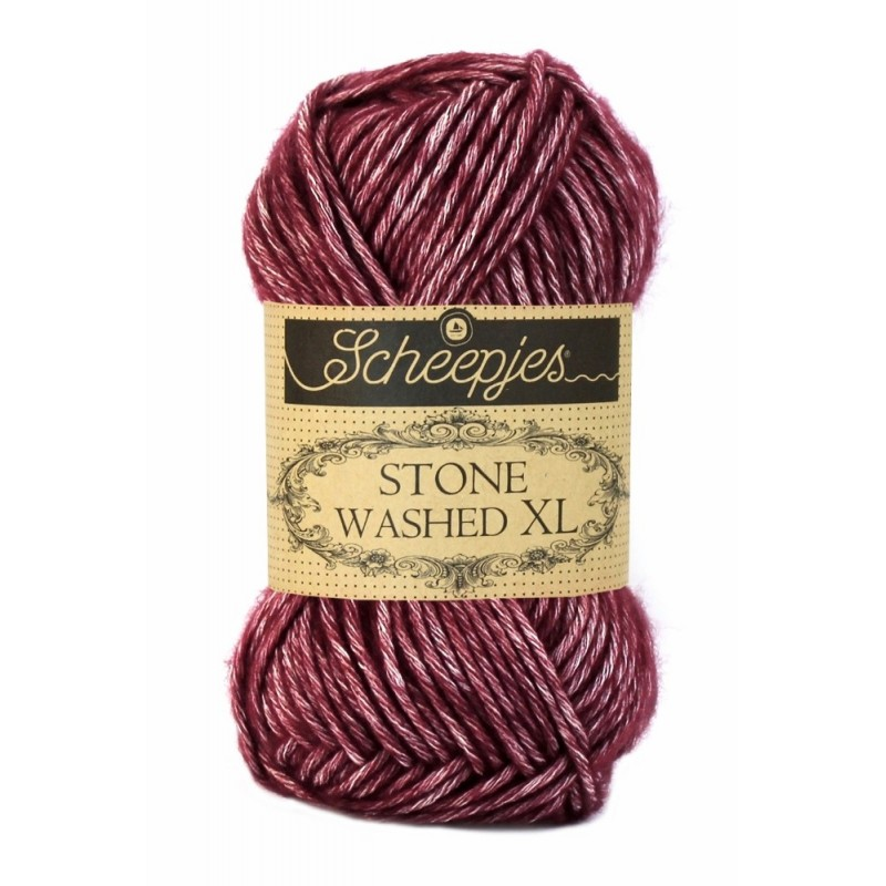 Scheepjes Stone Washed XL - 850 Garnet