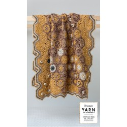 Honey Bee Blanket - crochet kit - English