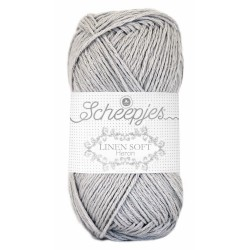 Scheepjes Linen Soft 618 - light grey