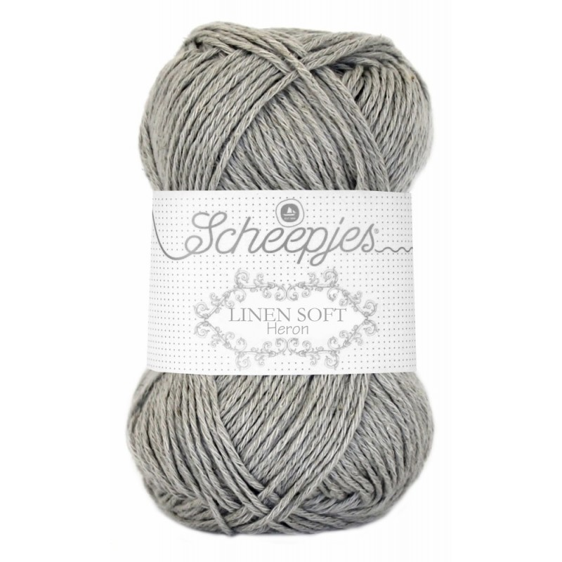 Scheepjes Linen Soft 619 - grey