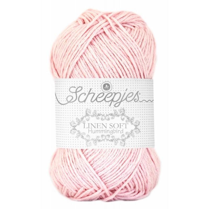 Scheepjes Linen Soft 628 - light pink