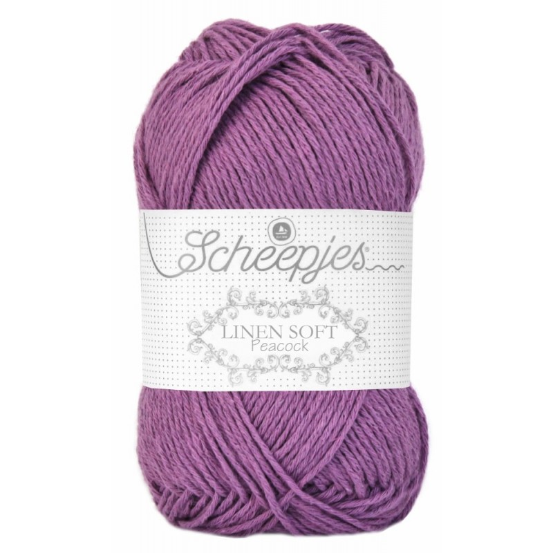 Scheepjes Linen Soft 612 - purple