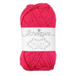 Scheepjes Linen Soft 626 - pink red