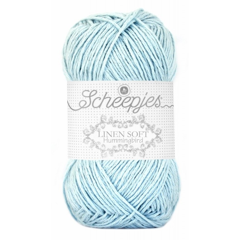Scheepjes Linen Soft  629 - light blue