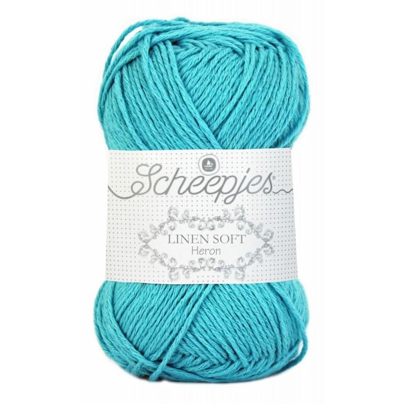 Scheepjes Linen Soft  614 - turquoise
