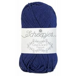 Scheepjes Linen Soft 611 - kobalt blue