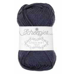 Scheepjes Linen Soft 617 - grey blue