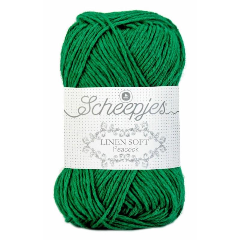 Scheepjes Linen Soft 605 -forest green