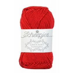 Scheepjes Linen Soft 633 - Xmas red