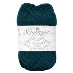 Scheepjes Linen Soft 607 - deep sea