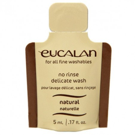 Eucalan Natural 5ml - lessive pour laine