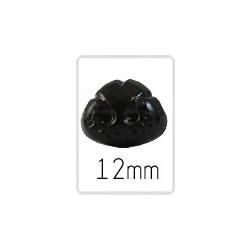 Tiernase (safety) - 12 mm - 5 stück