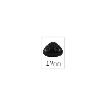 Nez animal (safety) - 19 mm - 5 pièces
