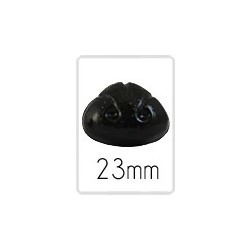 Tiernase (safety) - 23 mm - 5 stück