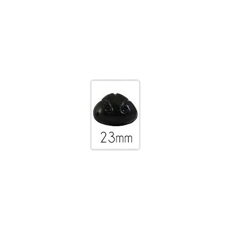 Nez animal (safety) - 23 mm - 5 pièces