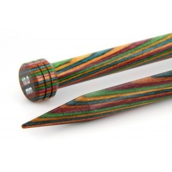 KnitPro Single Point Needle  Wood - 40cm - 7 mm