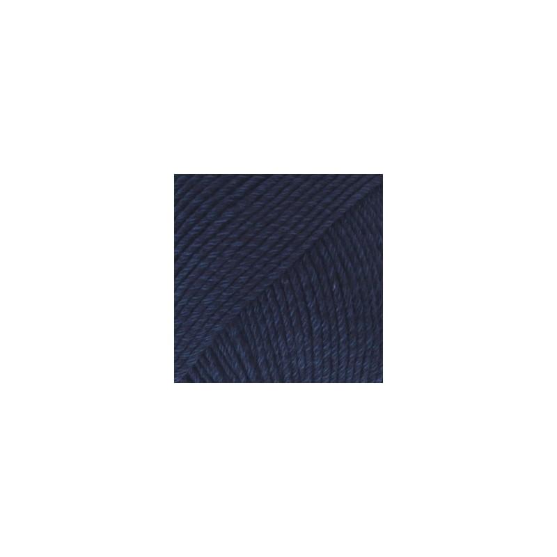 Drops Drops Cotton Merino 08 - bleu marine