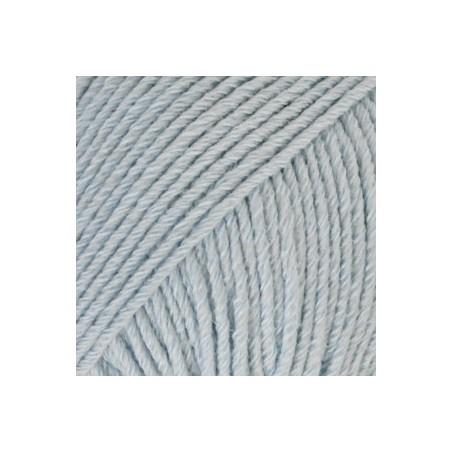 Drops Cotton Merino 09 - ijsblauw