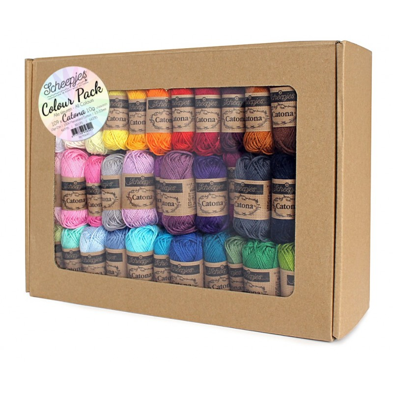 Scheepjes Catona 10 Colour Pack