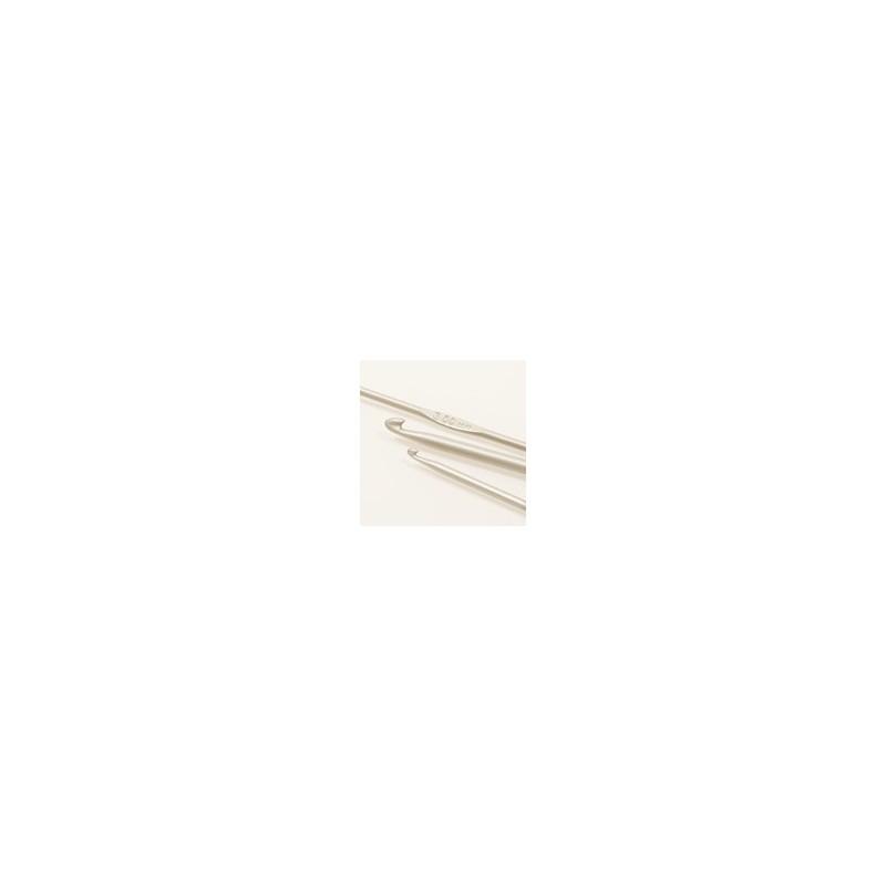Drops häkelnadeln 3mm - 13 cm - aluminium