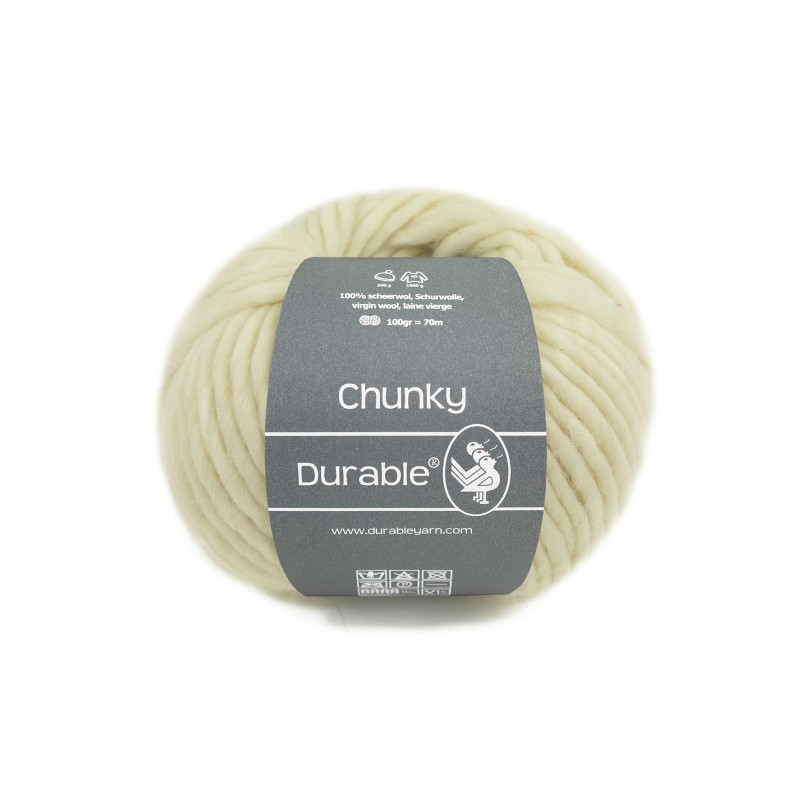 Durable Chunky 326 Ivory