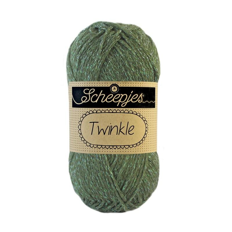 Scheepjes Twinkle 931 Moss Green
