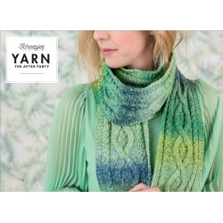 The After Party 12 - Mossy Cabled Scarf