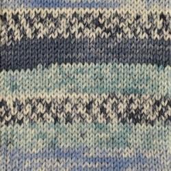 Drops Drops Fabel print 914 - shoreline blue