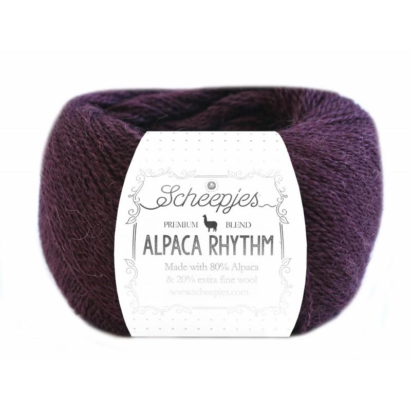 Scheepjes Alpaca Rhythm 662 Paso dark purple