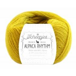 Scheepjes Alpaca Rhythm 668 Disco Goldenrod