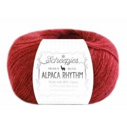 Scheepjes Alpaca Rhythm 663 Tango Red
