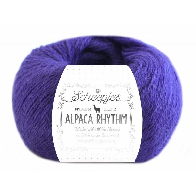 Scheepjes Alpaca Rhythm 660 Calypso Blue