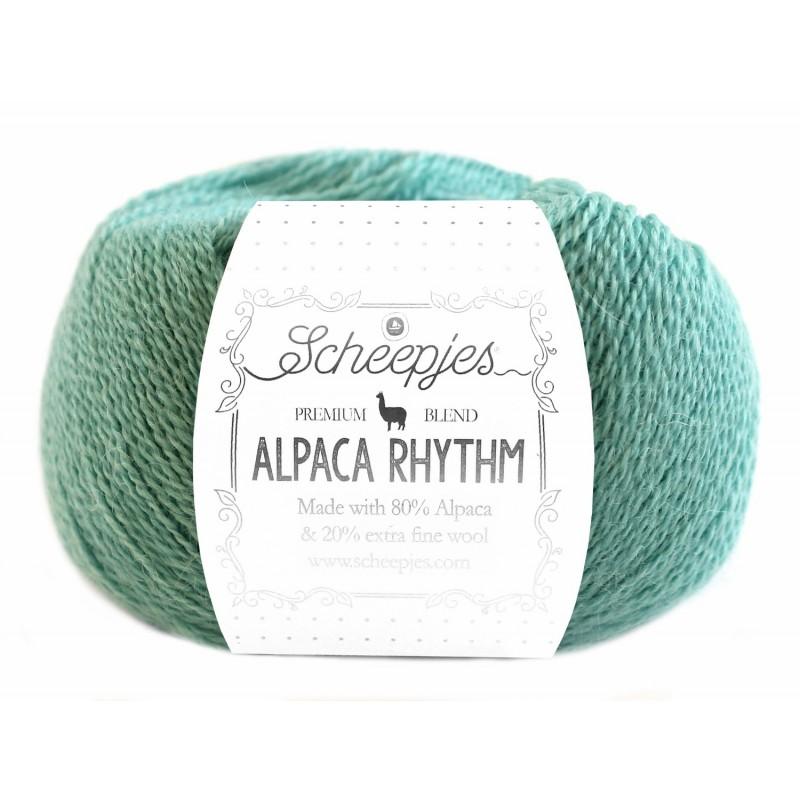 Scheepjes Alpaca Rhythm 655 Twist green