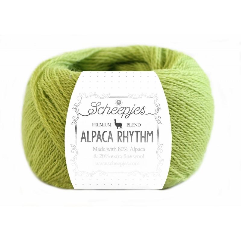 Scheepjes Alpaca Rhythm 652 Smooth green