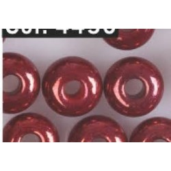 Gutermann Rocaille Pearls 6/0 4450 rusty red  - 200 pc