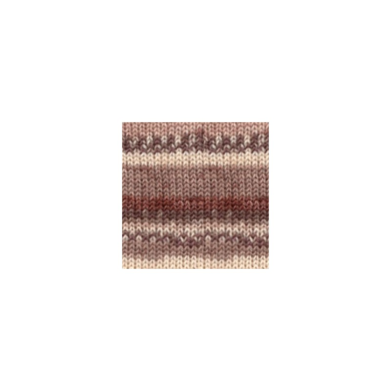 Drops Drops Fabel print 912 - soft chocolate