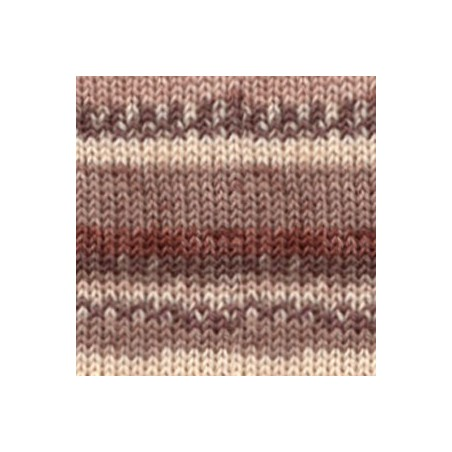 Drops Fabel print 912 - soft chocolate