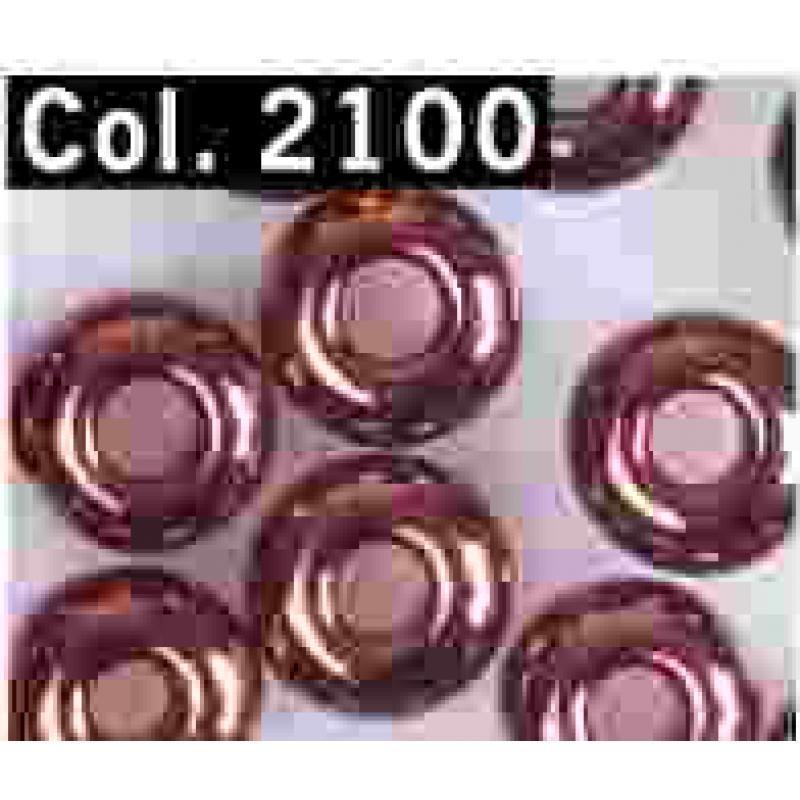 Gutermann Rocaille Parels 6/0 2100 copper- 200 pc