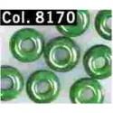 Gutermann Rocaille Parels 6/0 8170 green - 200 st