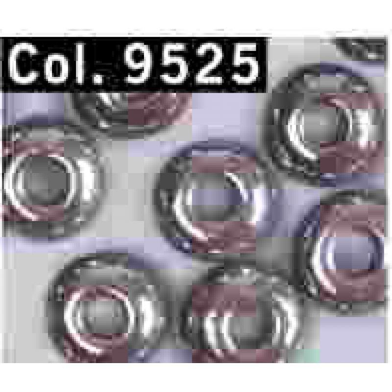 Gutermann Rocaille Parels 6/0 9525 grey - 200 pc