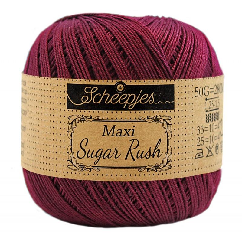 Scheepjes Maxi Sugar Rush 750 Bordeau